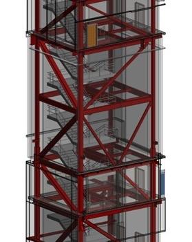 Braced Frame Tower