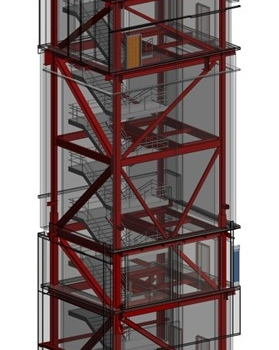 Braced Frame Tower